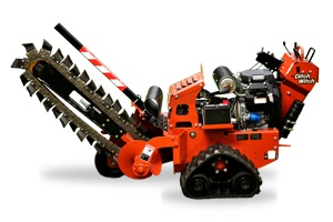 Ditch Witch 36 Inch Max Depth Self Propelled Trencher