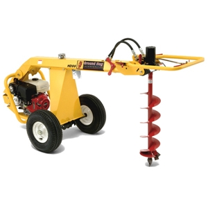 Ground hog tow behind post hole digger rentalzonepa for Hydraulic auger motor for sale