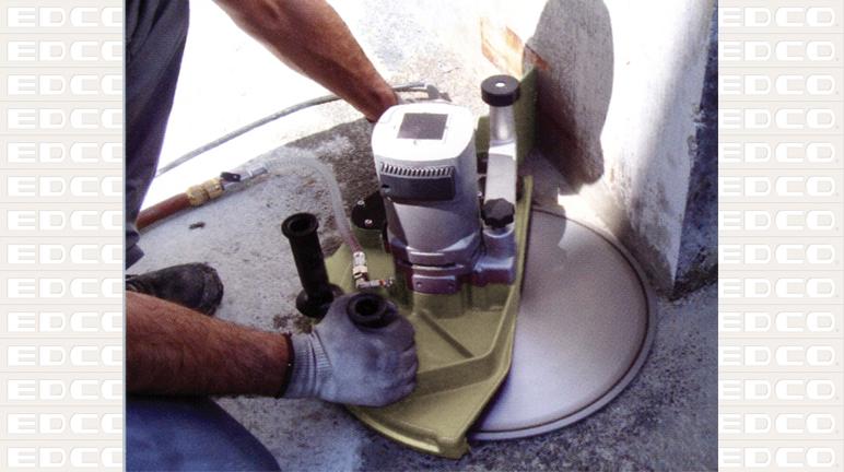Wall To Flush Cut Saws : Edco inch electric concrete saw rentalzonepa